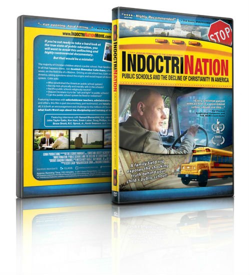 Indoctrination DVD - Public Schools and the Decline of Christianity in America | MamasCoffeeShop.info/blog