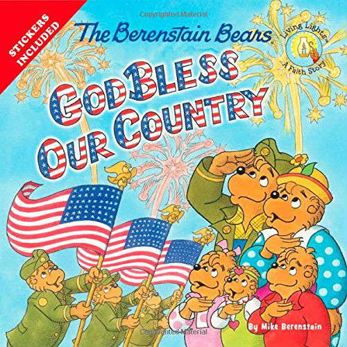 God Bless Our Country The Berenstain Bears | Mama's Coffee Shop BookLook Blogger Review