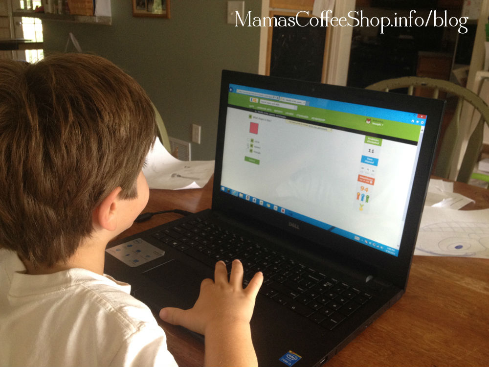Mamas Coffee Shop - Using IXL in Our Homeschool