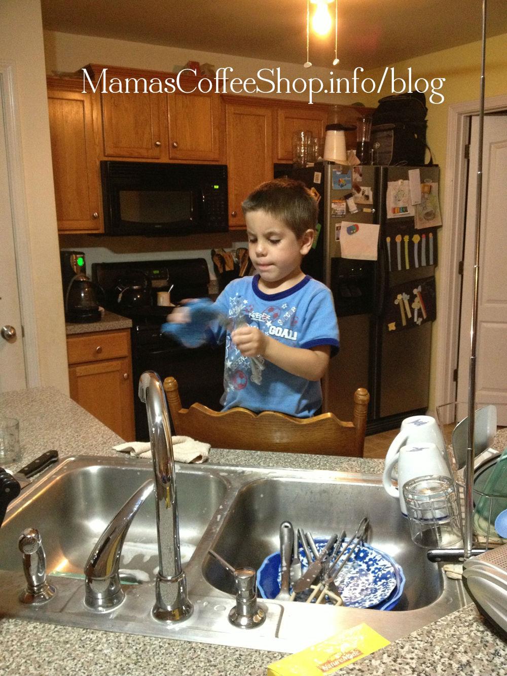 MCS-Washing Dishes