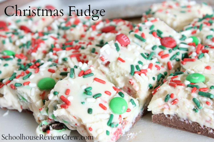 SchoolhouseReviewCrew - Christmas Fudge